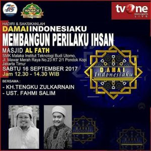Damai Indonesiaku | SMK Malaka